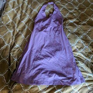 Lilac Patagonia halter dress